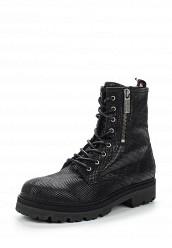 Купить Ботинки Tommy Hilfiger черный TO263AWTPN83