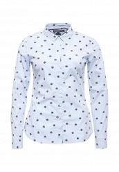 Купить Рубашка Tommy Hilfiger голубой TO263EWOLP10