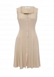 Купить Платье Tutto Bene бежевый TU009EWTCT65