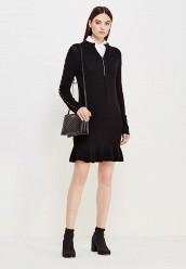 Купить Платье Twin-Set Simona Barbieri черный TW005EWUME51
