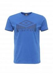 Купить Футболка Umbro UMBRO LOGO TEE синий UM463EMSAK86 Китай