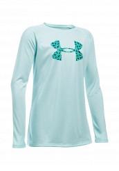 Купить Лонгслив спортивный UA Big Logo LS T Under Armour мятный UN001EGOJL22