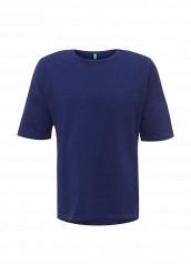 Купить Футболка United Colors of Benetton синий UN012EMPIF12 Тунис