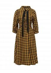 Купить Платье Vika Smolyanitskaya желтый VI043EWTLS30