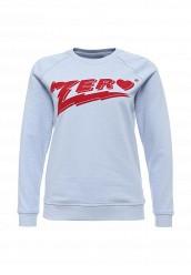 Купить Свитшот Zoe Karssen голубой ZO006EWOOP27