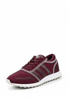 Кроссовки, adidas Originals, цвет: бордовый. Артикул: AD093AWQIS82. Женская обувь / Кроссовки и кеды