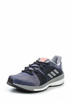 Кроссовки, adidas Performance, цвет: фиолетовый. Артикул: AD094AWQIK34. Женская обувь / Кроссовки и кеды