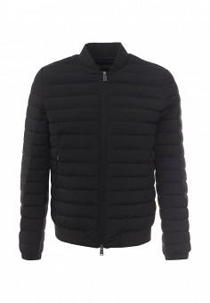 Пуховик, Add, цвет: черный. Артикул: AD504EMSWX26. Мужская одежда / Верхняя одежда / Пуховики и зимние куртки
