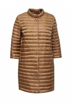 Пуховик, Add, цвет: коричневый. Артикул: AD504EWQIP32. Премиум / Одежда / Верхняя одежда / Пуховики и зимние куртки