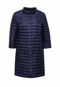 Пуховик, Add, цвет: синий. Артикул: AD504EWQIP33. Премиум / Одежда / Верхняя одежда / Пуховики и зимние куртки