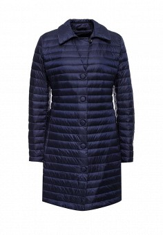 Пуховик, Add, цвет: синий. Артикул: AD504EWQIP36. Премиум / Одежда / Верхняя одежда / Пуховики и зимние куртки