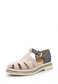 Сандалии, Alberto Guardiani, цвет: розовый. Артикул: AL027AWOVV84. Премиум / Обувь / Сандалии