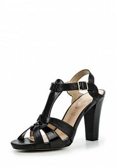 Босоножки, Alesya, цвет: черный. Артикул: AL048AWQEJ49. Женская обувь / Босоножки