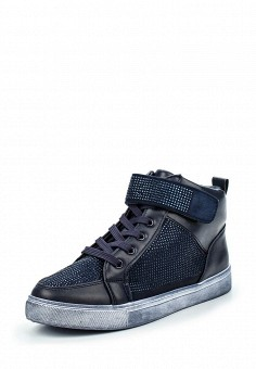 Кеды, Angelo Milano, цвет: синий. Артикул: AN053AWPSU62. Женская обувь
