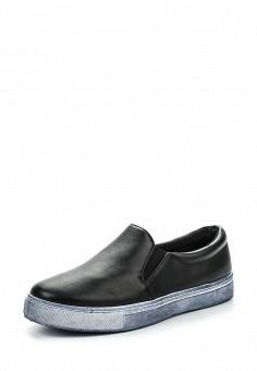 Слипоны, Angelo Milano, цвет: черный. Артикул: AN053AWPSU65. Женская обувь