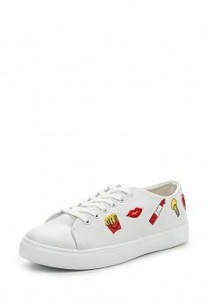 Кеды, Angelo Milano, цвет: белый. Артикул: AN053AWPSU72. Женская обувь