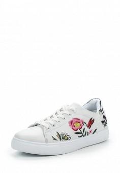 Кеды, Angelo Milano, цвет: белый. Артикул: AN053AWPSU78. Женская обувь