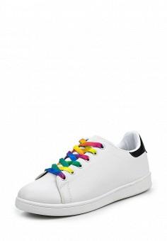 Кеды, Angelo Milano, цвет: белый. Артикул: AN053AWQQA25. Женская обувь