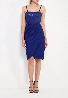 Платье, Apart, цвет: синий. Артикул: AP002EWJIV21.