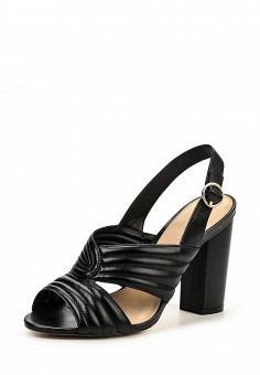 Босоножки, Arezzo, цвет: черный. Артикул: AR036AWQQX06. Женская обувь / Босоножки