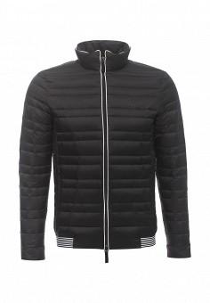 Пуховик, Armani Exchange, цвет: черный. Артикул: AR037EMPWU04. Мужская одежда / Верхняя одежда / Пуховики и зимние куртки