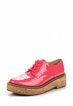 Ботинки, Armani Jeans, цвет: розовый. Артикул: AR411AWPWC80. Премиум / Обувь
