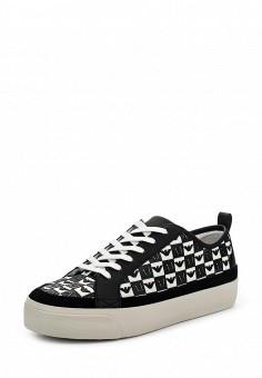 Кеды, Armani Jeans, цвет: черный. Артикул: AR411AWPWC92. Премиум / Обувь