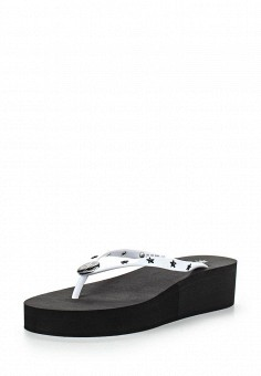 Сабо, Armani Jeans, цвет: белый. Артикул: AR411AWPWC93. Премиум / Обувь
