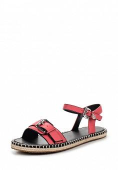 Сандалии, Armani Jeans, цвет: розовый. Артикул: AR411AWPWC98. Премиум / Обувь / Сандалии