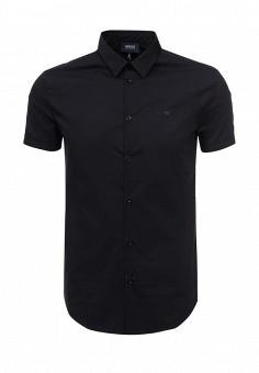 Рубашка, Armani Jeans, цвет: синий. Артикул: AR411EMOVT21. Мужская одежда / Рубашки