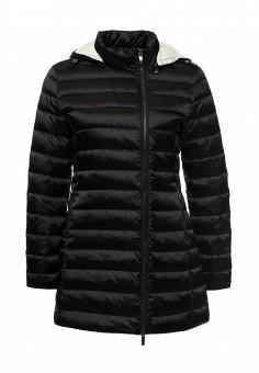 Пуховик, Armani Jeans, цвет: черный. Артикул: AR411EWJSO78. Женская одежда / Верхняя одежда