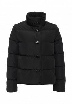Пуховик, Armani Jeans, цвет: черный. Артикул: AR411EWJSO93. Женская одежда / Верхняя одежда