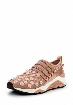 Кроссовки, Ash, цвет: розовый. Артикул: AS069AWQQY65. Женская обувь