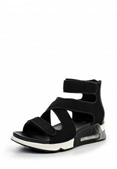Сандалии, Ash, цвет: черный. Артикул: AS069AWQQY76. Женская обувь