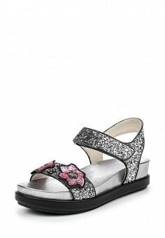 Сандалии, Ash, цвет: серебряный. Артикул: AS069AWQUP33. Женская обувь