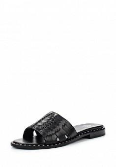 Шлепанцы, Ash, цвет: черный. Артикул: AS069AWQUP37. Женская обувь