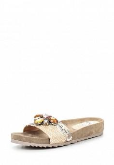 Шлепанцы, Ash, цвет: бежевый. Артикул: AS069AWQUP41. Женская обувь