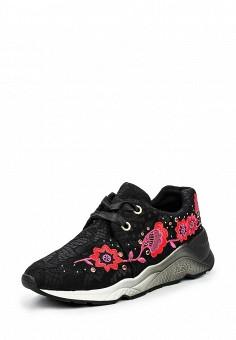 Кроссовки, Ash, цвет: черный. Артикул: AS069AWQUP50. Женская обувь