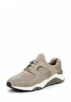 Кроссовки, Ash, цвет: бежевый. Артикул: AS069AWQUP51. Женская обувь