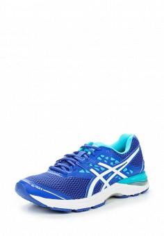 Кроссовки, ASICS, цвет: синий. Артикул: AS455AWUMF43. Женская обувь / Кроссовки и кеды