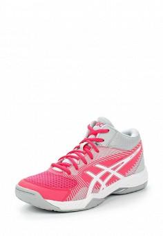 Кроссовки, ASICS, цвет: розовый. Артикул: AS455AWUMG01. Женская обувь / Кроссовки и кеды