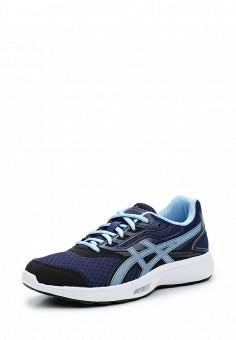 Кроссовки, ASICS, цвет: синий. Артикул: AS455AWUMG09. Женская обувь / Кроссовки и кеды