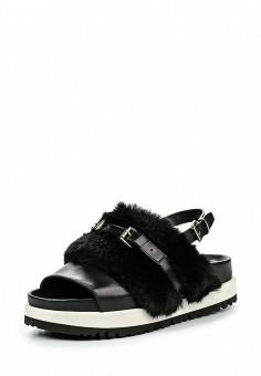 Босоножки, Atos Lombardini, цвет: черный. Артикул: AT009AWJQE32. Женская обувь / Босоножки