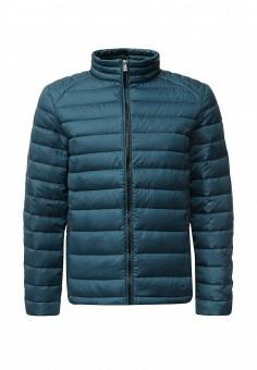 Пуховик, Baon, цвет: бирюзовый. Артикул: BA007EMLBR95. Мужская одежда / Верхняя одежда / Пуховики и зимние куртки