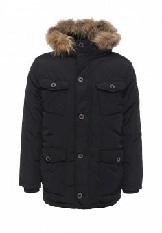 Пуховик, Baon, цвет: черный. Артикул: BA007EMLNS68. Мужская одежда / Верхняя одежда / Пуховики и зимние куртки