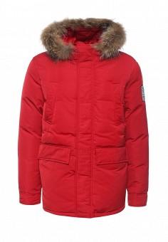 Пуховик, Baon, цвет: красный. Артикул: BA007EMLNS74. Мужская одежда / Верхняя одежда / Пуховики и зимние куртки