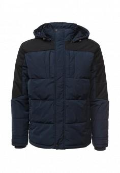 Куртка утепленная, Baon, цвет: синий. Артикул: BA007EMLNS98. Мужская одежда / Верхняя одежда / Пуховики и зимние куртки
