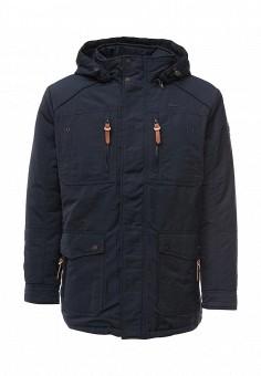 Куртка утепленная, Baon, цвет: синий. Артикул: BA007EMMNS36. Мужская одежда / Верхняя одежда / Пуховики и зимние куртки