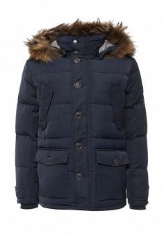 Пуховик, Baon, цвет: синий. Артикул: BA007EMNLO28. Мужская одежда / Верхняя одежда / Пуховики и зимние куртки
