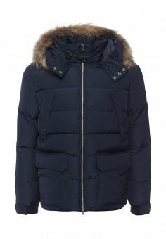 Пуховик, Baon, цвет: синий. Артикул: BA007EMNLO29. Мужская одежда / Верхняя одежда / Пуховики и зимние куртки